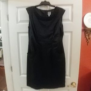 rabbit rabbit rabbit Black Crinkled Dress Size 16